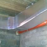 Instalacja ogrzewania nadmuchowego i klimatyzacji w domu weselnym 05