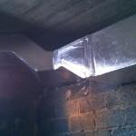 Instalacja ogrzewania nadmuchowego i klimatyzacji w domu weselnym 06